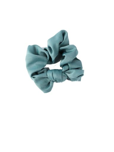 D blue Ribbon bow headband tied hair hair band