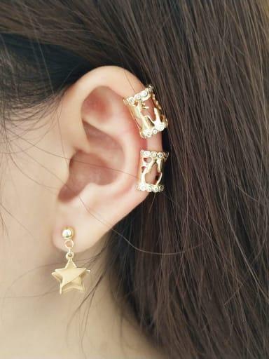 925 Sterling Silver Irregular Trend Stud Earring
