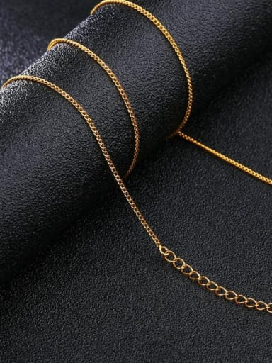 Brass Minimalist chain Necklace