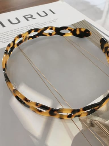 Carambola k051 Cellulose Acetate Vintage Geometric Hair Headband