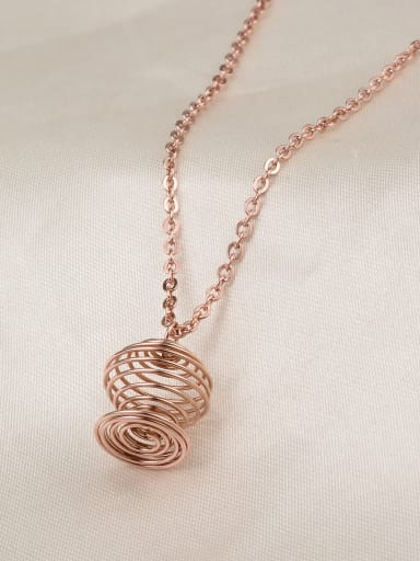 Titanium Reel Magic Light Necklace