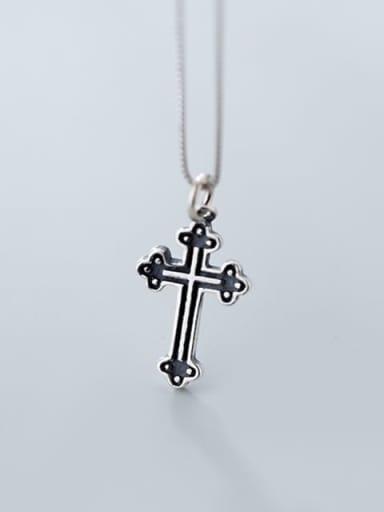 925 Sterling Silver Minimalist  Cross  Pendant