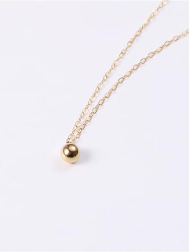 Titanium  Smooth Round Minimalist Necklaces