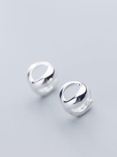 925 Sterling Silver Star Minimalist Stud Earring