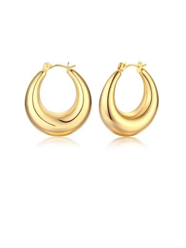 Circular eh 288 Stainless steel Geometric Minimalist Drop Earring