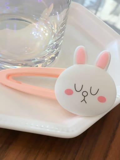 Corney rabbit Alloy Resin Bear Bunny Dinosaur Fruit Cartoon Clip BB Clip