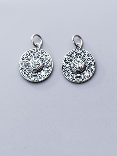 925 Sterling Silver With Vintage Hat Pendant Diy Accessories