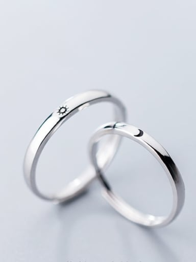 925 Sterling Silver Minimalist Halo Ring