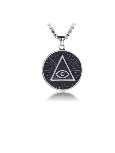 Pendant (excluding chain) Triangle Titanium Vintage  God's Eye Pendant Pendant