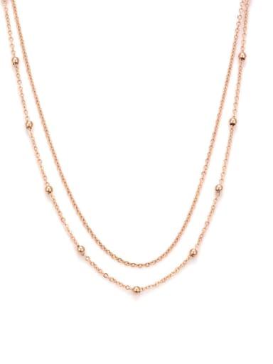 Titanium Bead Necklace