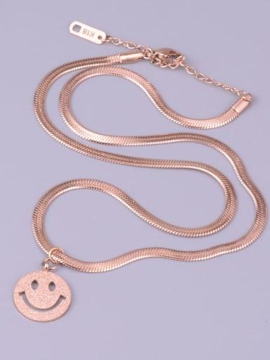 Titanium Face Minimalist Necklace
