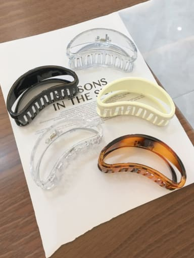 Alloy  Cellulose Acetate Minimalist Geometric Jaw Hair Claw