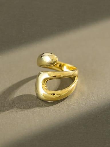 925 Sterling Silver Irregular Minimalist Band Ring
