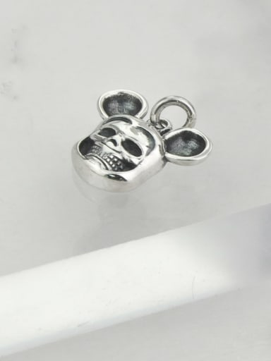 Vintage Sterling Silver With Vintage Mickey Mouse Pendant Diy Accessories