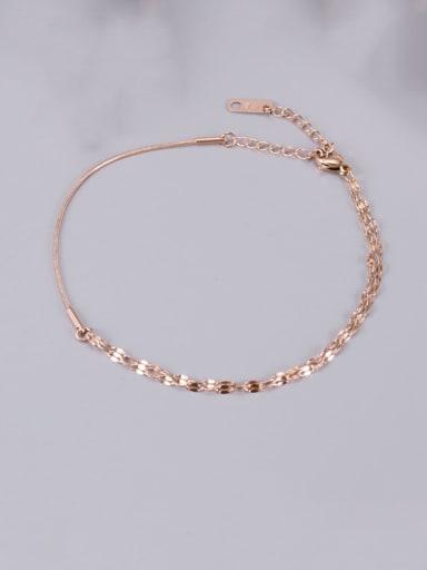 Titanium Minimalist Link Bracelet