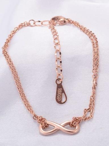 Titanium Irregular Minimalist Strand Bracelet