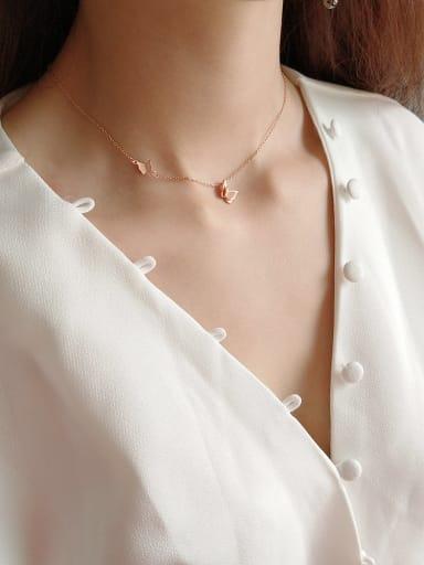 925 Sterling Silver  Butterfly Choker Necklace