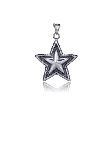 Pendant (excluding chain) Titanium  Pentagram  Vintage Pendant