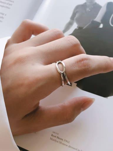 925 Sterling Silver Irregular Minimalist Midi Ring