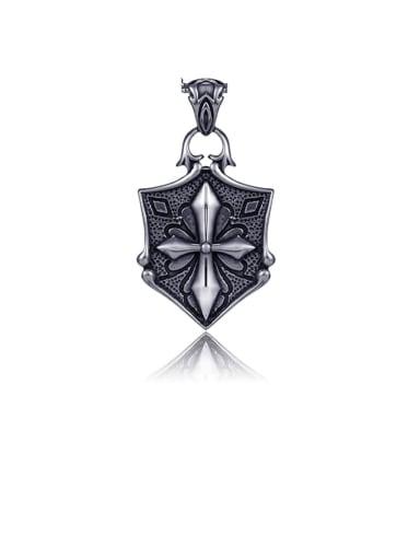 Cross Titanium Vintage Pendant
