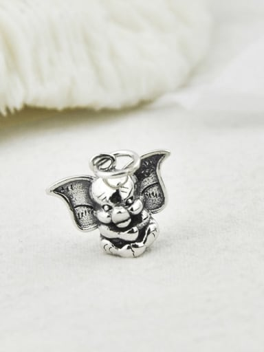 Vintage Sterling Silver With Vintage Elephant Pendant Diy Accessories