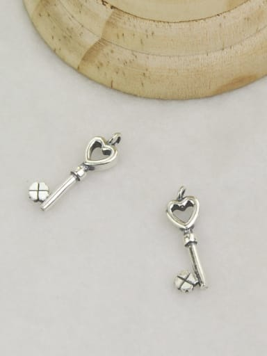 Vintage Sterling Silver With Simple Retro KEY DIY Accessories