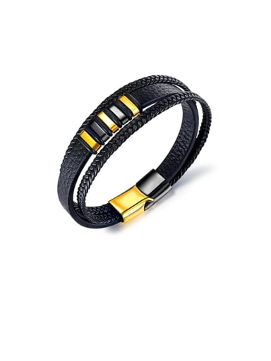 Titanium Minimalist Multi-layer Woven & Braided Bracelets