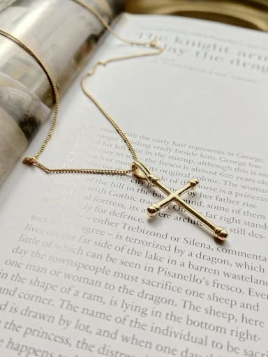 925 Sterling Silver Classic Cross Regligious Necklace