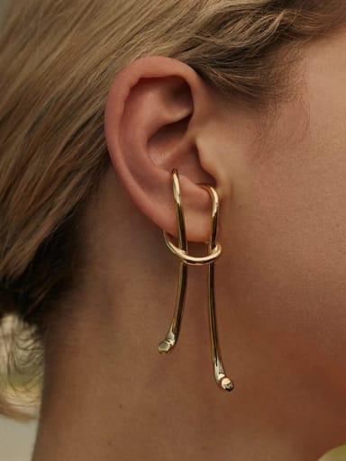 925 Sterling Silver Geometric Vintage Drop Earring