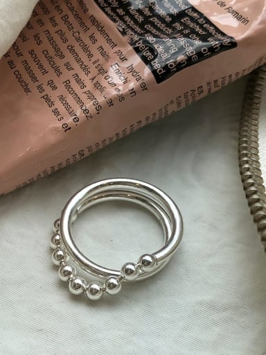 925 Sterling Silver Artisan Stackable Ring