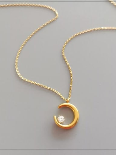 Titanium Cubic Zirconia White Round Minimalist Choker Necklace