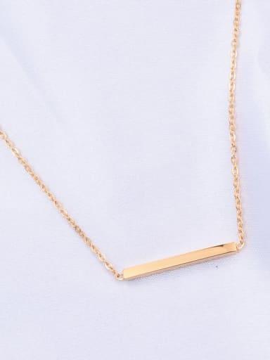 Titanium Smooth Geometric Minimalist Choker Necklace