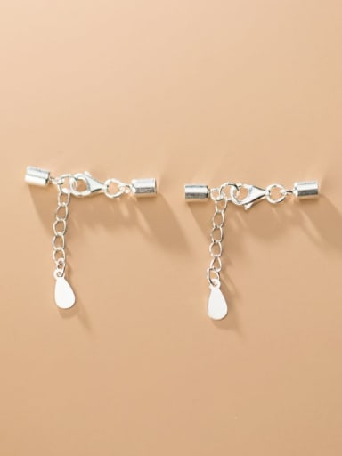 925 Sterling Silver With Lobster Clasp Extension Chain