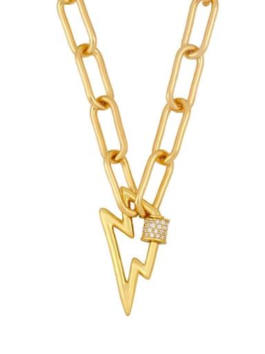Alloy Cubic Zirconia Heart Minimalist  chain Necklace