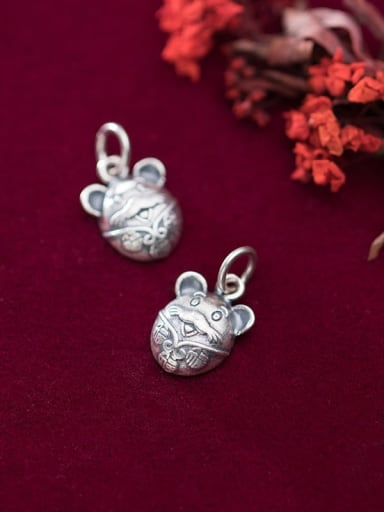 925 Sterling Silver With Mouse Pendant Diy Jewelry Accessories