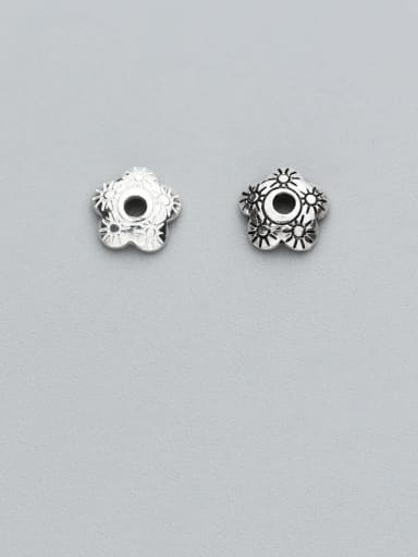 925 Sterling Silver With Vintage Bead Caps Diy Jewelry Accessories