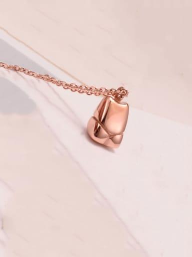 Titanium  Smooth Irregular Minimalist Choker Necklace