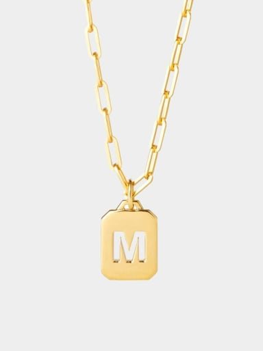 Stainless steel Geometric Minimalist Necklace