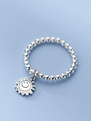 925 Sterling Silver Rosary Minimalist Bead Ring