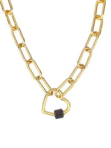 love Titanium Irregular Vintage Hollow heart geometry pendant Necklace