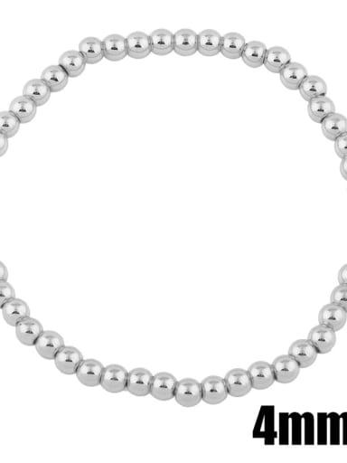 steel 4mm Brass Ball Minimalist Bead Chain