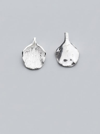 925 Sterling Silver With  Minimalist Leaf Pendant Diy Jewelry Accessories