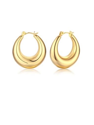 Stainless steel Geometric Minimalist Drop Earring