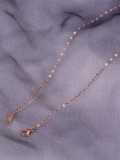 Titanium Irregular Minimalist Bar Chain