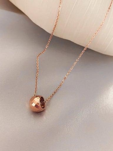 Zinc Alloy Geometric Classic Necklace