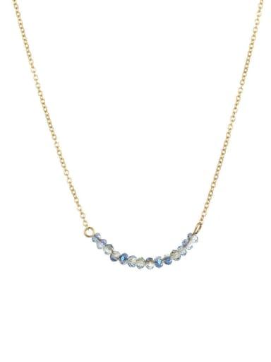 Yx16892 gold Stainless steel Round Minimalist Necklace