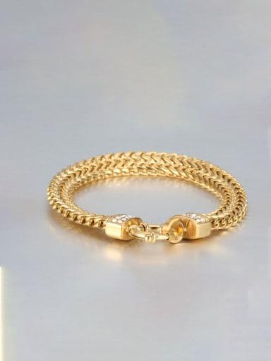 Titanium Double row Vintage Link Bracelet