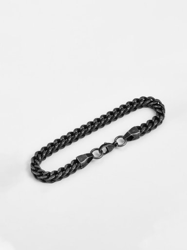 Titanium Vintage Man  Link Bracelet