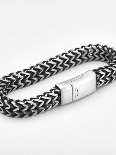 19cm Titanium Minimalist Link Bracelet