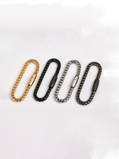Titanium Vintage Link Bracelet